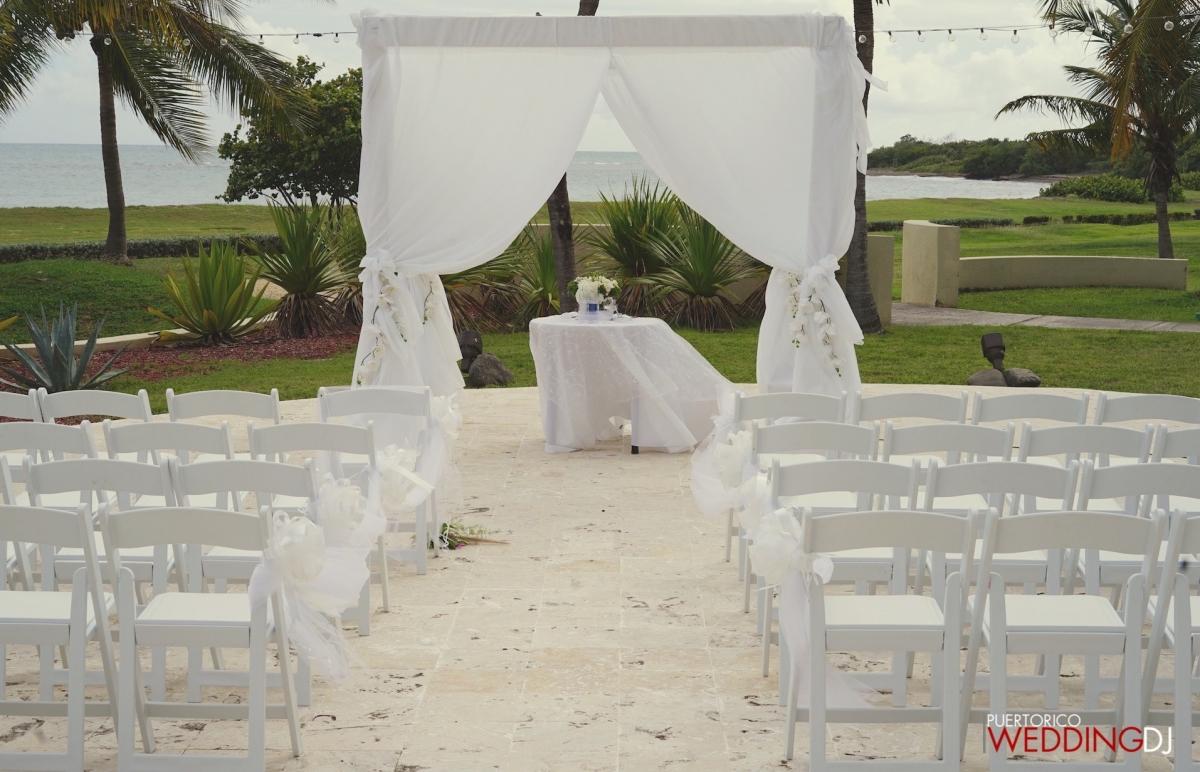 Ponce hilton wedding