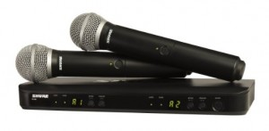 Wireless Microphones (shure)